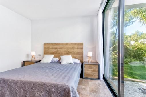 Large windows offer much daylight
