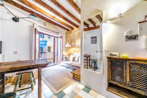 Bekväm och ljus studio i hjärtat av Palma