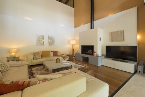 Very bright and spacious living area