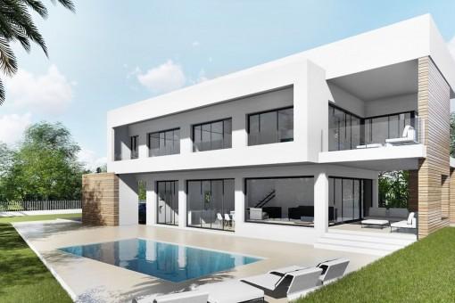 Villa i Bahia Azul