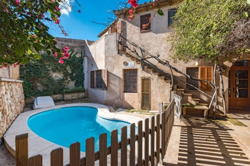 Exceptional mill in the centre of Santanyi