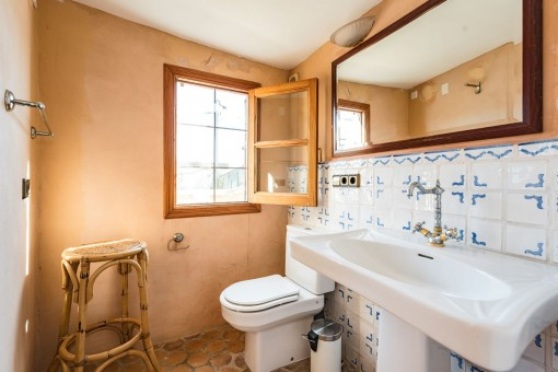 Bathroom with natural light