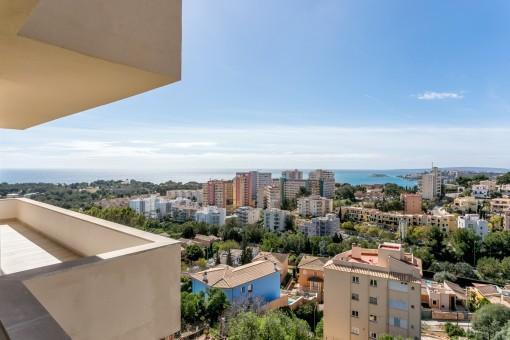 Modern lägenhet med fantastisk utsikt över Palma