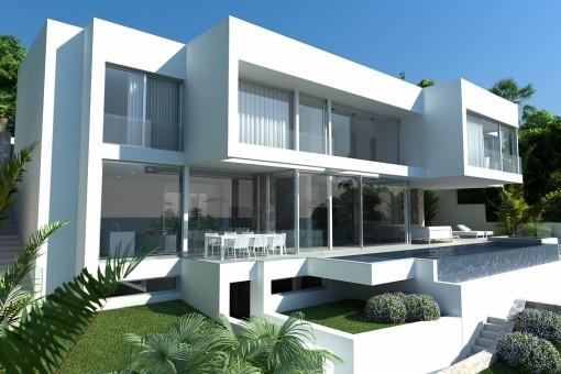 Hus i Costa den Blanes