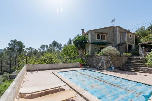 Ett hus med vacker utsikt över Tramuntana