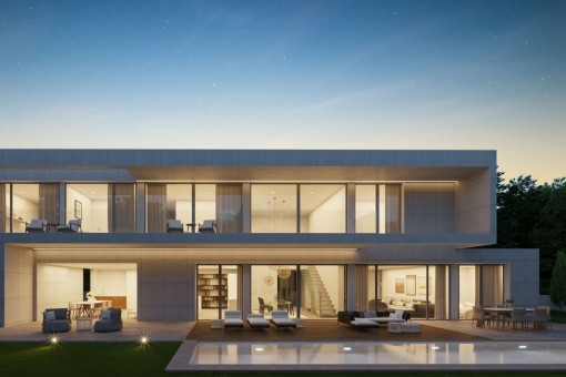 Modern, newly-built villa in an excellent location in Santa Ponsa