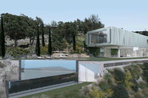 Spectacular modern villa project in a quiet area in Costa de la Calma