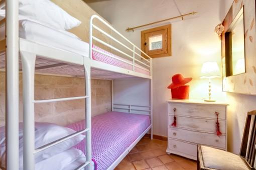 Childrens bedroom of the finca