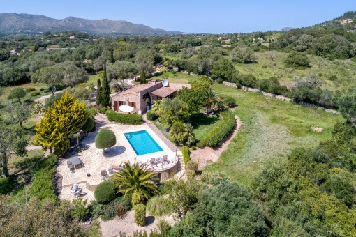 Peaceful finca in natural surroundings near Capdepera
