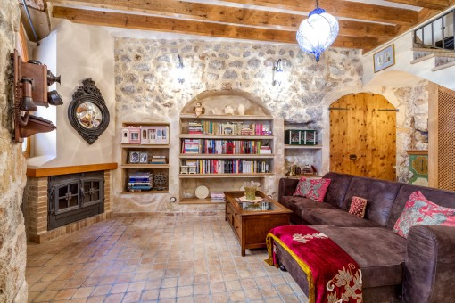 Underbart, renoverat mallorquinskt hus med mycket charm i Valdemossa