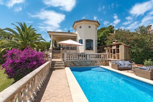 Comfortable villa with mountain views in Costa de la Calma