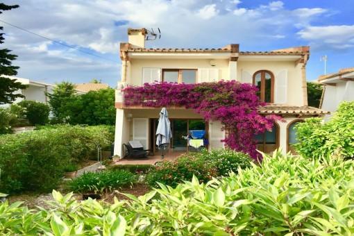 Well-kept, detached villa with charm in a quiet neighbourhood in Puerto Pollensa