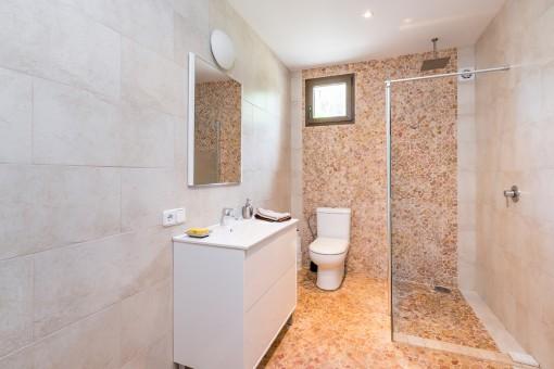 Beautiful shower bathroom