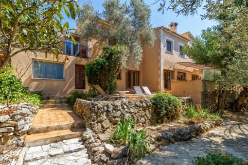 Villa med semesterlicens i ett utmärkt läge i Valldemossa