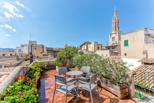Spectacular penthouse apartment in Palma...