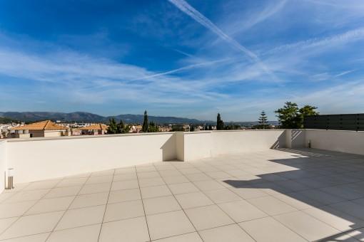 Wonderful, newly-built penthouse in Palma