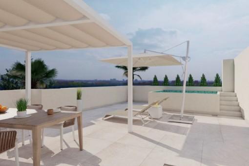 Plan - Terrace