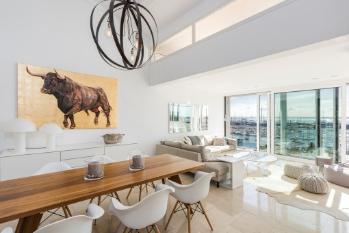 Exclusive penthouse with wonderful sea views in Palma