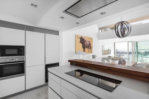 Beautiful, modern kitchen