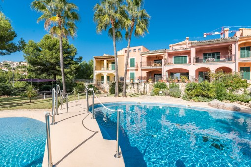 Charming apartment with communal pool in Santa Ponça