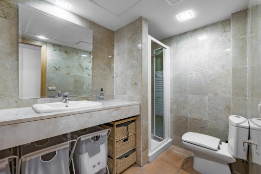 Second modern bathroom