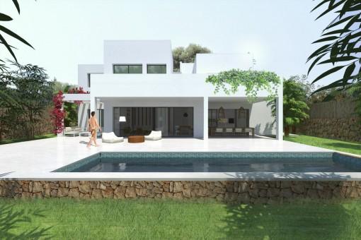 Villa i Cala Mondrago