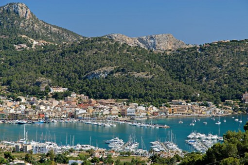 Beautiful view of Port d'Andratx