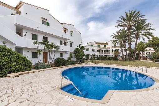 Lägenhet i Cala Santanyi
