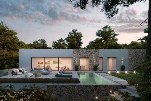 Villa i Costa de la Calma
