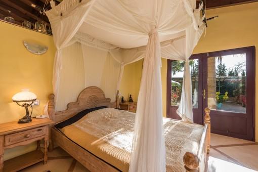 Wonderful sunny bedroom