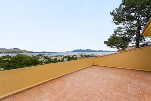 Fantastic seaview-villa in Port Pollenca