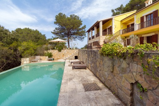 Renovated villa with sea views surrounded by nature in Valldemossa
