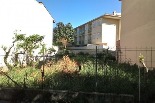 Apartment under construction in a residential area in Alcudia only a few steps from the bay of Pollenca