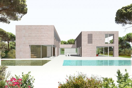 Dreamlike plot with sea views in a prime location in Cala Pi / Vallgornera