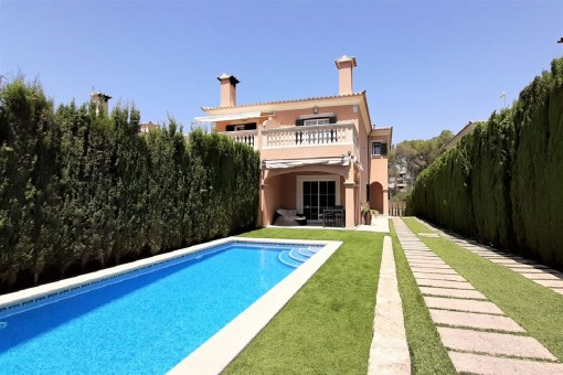 Great value for money-semi-detached house in the south of Mallorca in Puig de Ros
