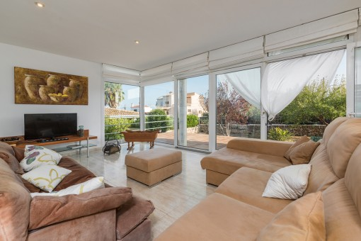 Well maintained villa in a quiet residential area in the picturesque coastal town of Porto Colom