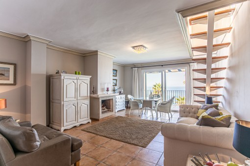 Penthouse on the first sea line in Betlem with breathtaking views over the bay of Alcudia