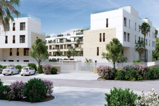 Newly-built apartment in a prime location in Santa Ponsa
