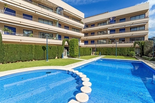 Amazing apartment in a very well kept community with swimming pool in Port Andratx