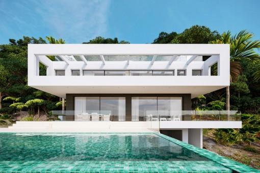 Exclusive new-built villa in  prime location in Son Vida