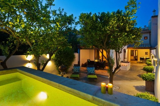 Cozy country house with pool in Sineu