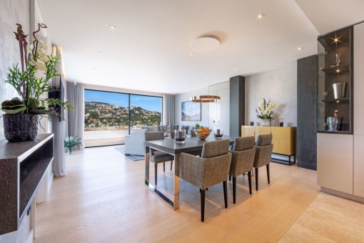 Newly-built luxurious penthouse in Port Andratx
