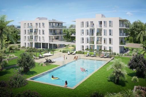 Lägenhet i Cala d'Or