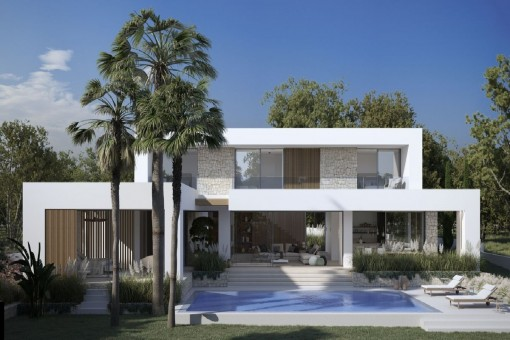Fantastic newly-built project in a prime location in the south-west of Mallorca