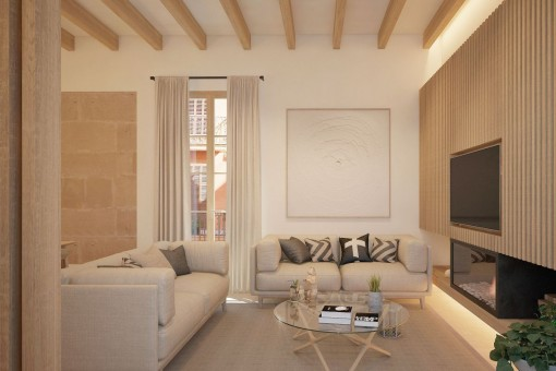 Beautiful and charming, renovated apartment in the middle of the centre of Palma's old town