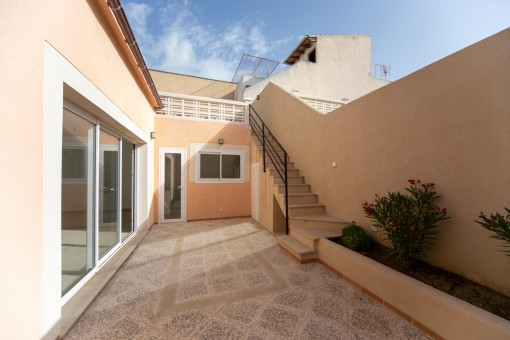 Charming newly renovated town house located just a few steps from the port of Cala Ratjada