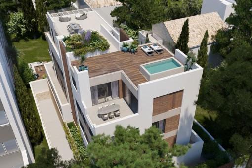 Lägenhet i Palma City
