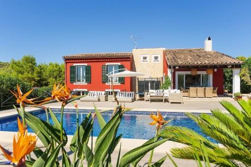 Hus i Costa de la Calma