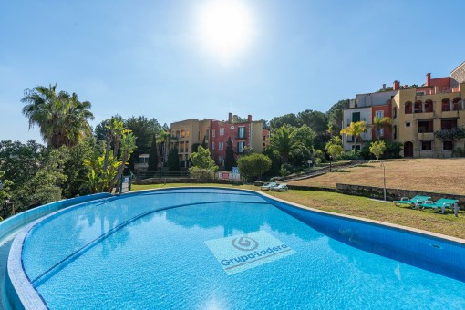 Elegant penthouse in a residential complex near the beach in Santa Ponsa