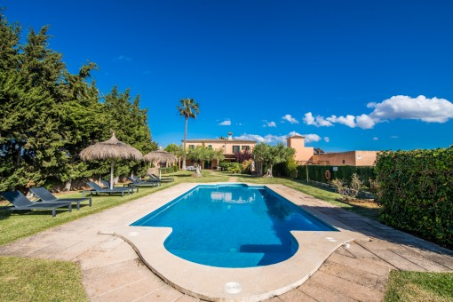 Finca property with 2 country houses and...